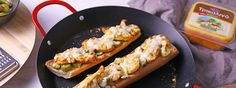 Συνταγή | Chicken melt sandwich με Τρικαλινό Καπνιστό