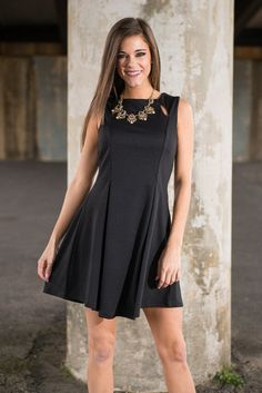 """""""Lucky Day Dress, Black"""" 