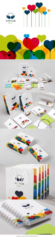 28 Creative Branding and Identity Design examples for your inspiration / Virtus: