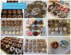 National Doughnut Day - Mini Protein Donuts - Sugar Free Protein Packed Bariatric Surgery Friendly Recipe