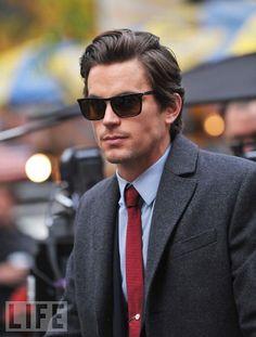 #Matt Bomer | White Collar  [Really nice sunglasses and hair, bro!]