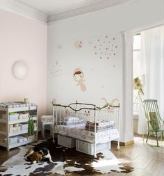 nursery- whimsical wall stickers