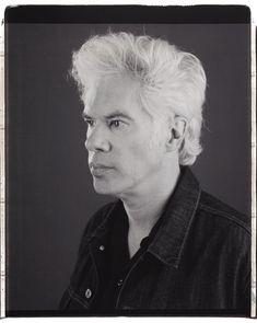 Jim Jarmusch (1953) - American independent film director, screenwriter, actor, producer, editor and composer. Photo  by Myrna Suárez