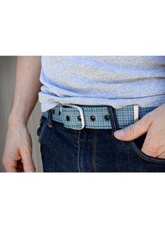 The Vintage Blue GTO Belt