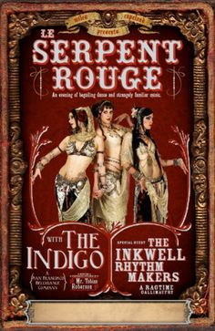 First Serpent Rouge Poster from 2007.
