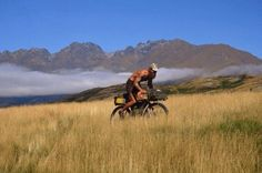 35-year-old American who thinks modern life is too stressful works 6 months a year, then lives on $10 a day adventuring around the world on a bicycle