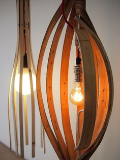 cafe with pallet lamps - Google Search