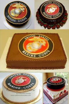 Incredible 151 Best Marine Corps Cakes Marine Corps Birthday Cakes Images Personalised Birthday Cards Akebfashionlily Jamesorg