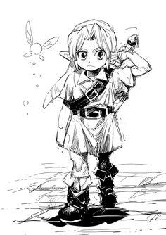 「ゼルダログ」/「aoki@通販開始」の漫画 [pixiv]
