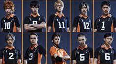 Actors for the live stage play! Haikyuu Karasuno, Haikyuu Anime, Haikyuu Live Action, Kimura Tatsunari, Haikyuu Cosplay, Anime Cosplay, Daichi Sawamura, Volleyball Anime, Stage Play