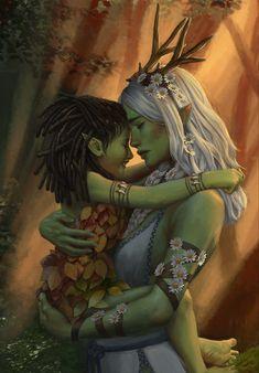 Dark Fantasy Art, Fantasy Artwork, Fantasy Story, Fantasy Drawings, Fantasy Queen, Fantasy Forest, Beautiful Fantasy Art, Dungeons And Dragons Characters, Dnd Characters