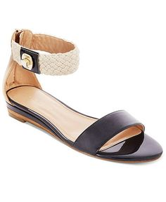 Tommy Hilfiger Shoes, Piper Wedge Sandals - Shoes - Macy's