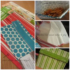 """""""Go green (or red or pink or blue) with reusable LunchSkins by Reuseit."""" Pin to read The Simple Moms review 