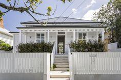 Weatherboard House, Queenslander House, Front Verandah, Concrete Steps, Residential Architect, House Paint Exterior, Cottage Exterior, Exterior Makeover, Facade House