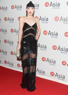 Michelle Harper at the Asia Societys Celebration of Asia Week Gala 2013 in New York. #fashion