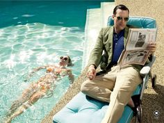 Jon Hamm: Don Draper Exposed - Rolling Stone by Mark Seliger, April 11th 2013