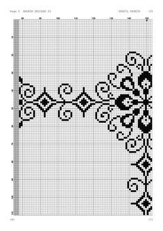 Cross Stitch Embroidery, Hand Embroidery, Cross Stitch Patterns, Embroidery Designs, Crochet Slipper Pattern, Crochet Slippers, Stool Cover Crochet, Blackwork, Needlepoint Patterns