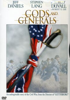 This epic film from writer-director Ron Maxwell chronicles the early events of the American Civil War. It's a prequel to his earlier GETTYSBURG, with some of the same cast, and is part of a planned tr