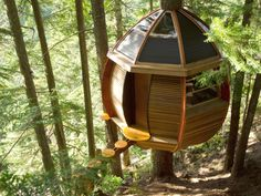 17 Spectacular Treehouses --> http://www.hgtvgardens.com/treehouses/out-on-a-limb-more-spectacular-treehouses?soc=pinterest