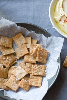 Sprouted Wheat Crackers Recipe