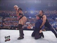 ass kiss my ass entertainment wwf the rock GIF