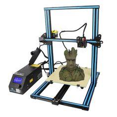 Creality DIY Printer Kit Printing Size With Z-axis Dual T Screw Rod Motor Filament Detector Nozzle 3d Printer Kit, 3d Printer Supplies, 3d Printer Projects, 3d Design Software, Diy 3d, Prusa I3, 3d Printing Service, 3d Printing Technology, Software Support