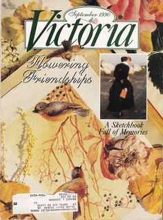 One of my favorite publications. Victoria magazine September 1990 cover