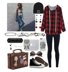"""*moving in with Pax.* - Skylar"" by littlenerd10 ❤ liked on Polyvore featuring NIKE, Calvin Klein, Converse, Brinley Co, Vans, Stone Rose, Casetify, Joshua's, Beats by Dr. Dre and women's clothing"