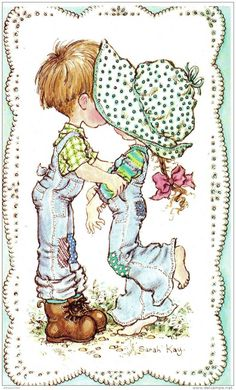 Immagini Sara Kay e Holly Hobbie Sarah Key, Holly Hobbie, Sara Key Imagenes, Vintage Pictures, Cute Pictures, Digi Stamps, Illustrations, Cute Illustration, Vintage Cards