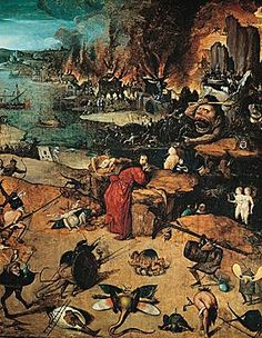 The Temptation of Saint Anthony. by Hieronymus Bosch Hieronymus Bosch, Catholic Art, Religious Art, Artist Painting, Painting & Drawing, Art Paintings, San Antonio Abad, Temptation Of St Anthony, Occult Art
