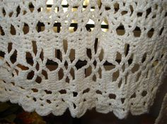 Ready to ship /GORGEOUS Handmade crochet light cream Lace by ufer, $100.00