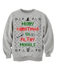 HARRY POTTER CHRISTMAS, Christmas Gift. Lotr sweatshirt. hogwarts alumni. always harry potter.    Ultra soft Harry potter themed ugly