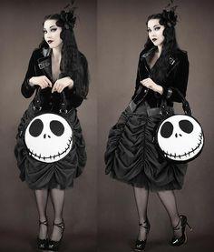 Gothic clothes ~ Jack Skellington bag