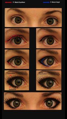 Everyday eye make up.