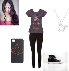 """""""mickey"""" by iluv1d-692 ❤ liked on Polyvore"""