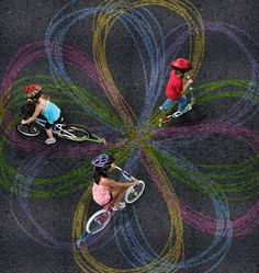 Washington-based inventor Scott Baumann has designed Chalktrail, a universally-fitting attachment for bicycles or scooters that allows the rider to decorate riding surfaces with chalk designs. It not only looks incredibly easy to install but it also looks really fun to use. A Kickstarter campaign has been started to bring this ingenious device to market.