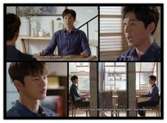 1x16  JoonHo suggests that Hyun, Min, and he run away together. Even if Hyun catches him he will have to catch Min as well.