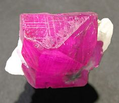 Ruby crystal from Afghanistan