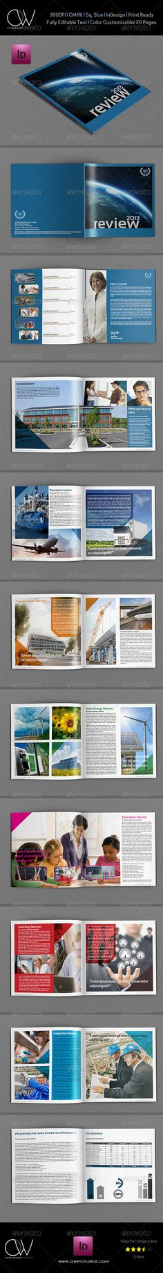 Company Brochure Template Vol.7 - 20 Pages