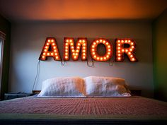 Scott Coppersmith Designs - Letter Marquee Lights