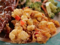 Hominy Casserole recipe from Ree Drummond via Food Network