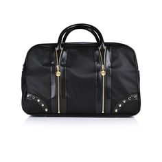 61586681709b Young Versace Black   Gold Baby Changing Bag Baby Changing Bags
