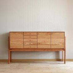 Light and classy sideboard 'Natante'-# Light and classy sideboard Natante - Daily Good Pin Woodworking Furniture, Furniture Plans, Wood Furniture, Furniture Design, Furniture Projects, Classic Furniture, Mid Century Modern Furniture, Contemporary Furniture, Handmade Furniture