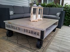 Reclaimed Pallet Coffee TablesCity of Toronto Furniture For