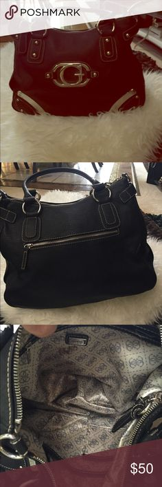 Guess Leather Black Purse Large Black Leather Purse Guess Bags
