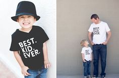 Matching Father & Son Best Shirts Ever - 3 Colors! - Main Photo