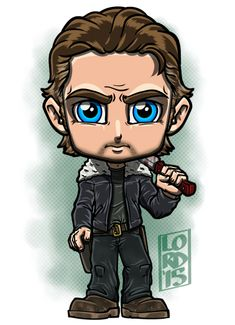 Rick Grimes ~ The Walking Dead The Walking Deaf, Walking Dead Series, Fear The Walking Dead, Chibi, Walking Dead Drawings, Lord Mesa Art, The 100 Poster, I Zombie, Disney Drawings Sketches