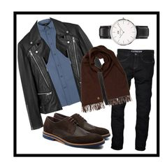 """""""daily outfit"""" by camilabonillac on Polyvore featuring Daniel Wellington, Ted Baker, Lyle & Scott, MANGO MAN, Loro Piana, men's fashion and menswear"""