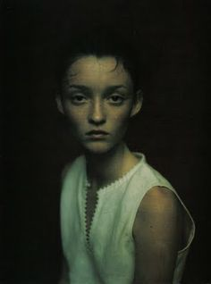 """""""Ritratti di Allora""""  by Paolo Roversi for Vogue Italia April 1998"""