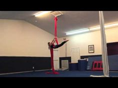 Aerial Silks After 1 Year of Classes - YouTube